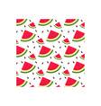 watermelon icon design template vector image