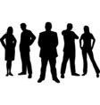 young professionals vector image vector image