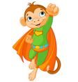 Super Monkey vector image