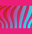 abstract holographic corporate wavy stripes vector image vector image
