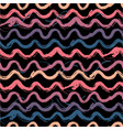 abstract waves seamless pattern vector image vector image
