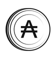 Austral icon simple style vector image vector image