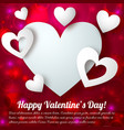 elegant amour template vector image