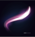 Pink abstract background wave vector image