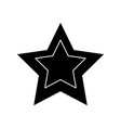 star shape symbol vector image
