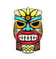 statue from small tiki island vector image