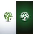 tree logo 2 vector image