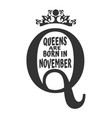 Vintage queen symbol motivation quote