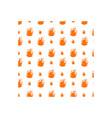 fire icon design template vector image