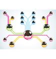 Future balls color vector image