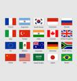 g20 country flag mexico usa canada