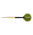 Green dart vector image vector image