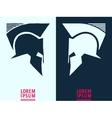 Helmet logo icon vector image vector image