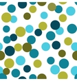 seamless pattern from repeating circles vector image vector image