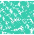 Seamless pattern with stylized palm leaves vector image vector image