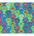 Multi color Retro pattern formate vector image vector image