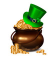 patricks day realistic composition vector image vector image