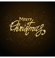 shining merry christmas vector image vector image