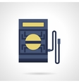Voltmeter flat color icon vector image vector image