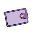 wallet safe money bank concept vector image