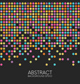 abstract dotted seamless background vector image vector image