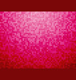 colorful pink red checkered background vector image