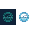 icon of a porthole linear style symbol vector image vector image