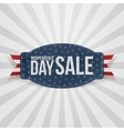 Independence Day Sale greeting Badge vector image vector image
