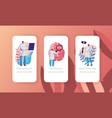 neurological examination concept mobile app page