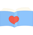 sign i like read book vector image
