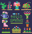 Spring mood vector image vector image