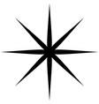 starburst sunburst or gleam glitter shape element