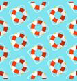 summer seamless pattern marine vector image