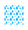 water drop background icon design template vector image
