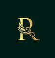 golden initial r