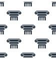 seamless column pattern education symbol from vector image