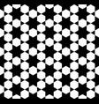 seamless simple geometric pattern vector image vector image