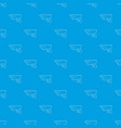 security camera pattern seamless blue vector image vector image