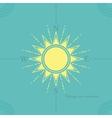 solar compass vector image