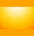 yellow orange mosaic background vector image