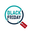black friday sale banner black friday sale banner vector image vector image