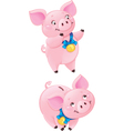 Cute Piggy-bank vector image vector image