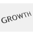 Growth text design