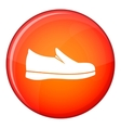 Shoes icon flat style vector image vector image