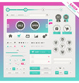 Shop edition of user interface elements vector image vector image