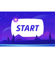 start night environment with sky clouds vector image vector image