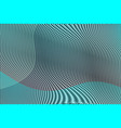 colorful abstract gradient background with moire vector image vector image