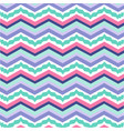 colorful zigzag pattern seamless vector image