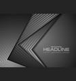 dark grey tech concept corporate background vector image
