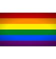 gayflag vector image vector image